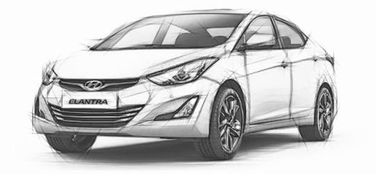 2016 Hyundai Elantra LED Headlights/Fog/Turn/Reverse/Tail Lights Bulbs