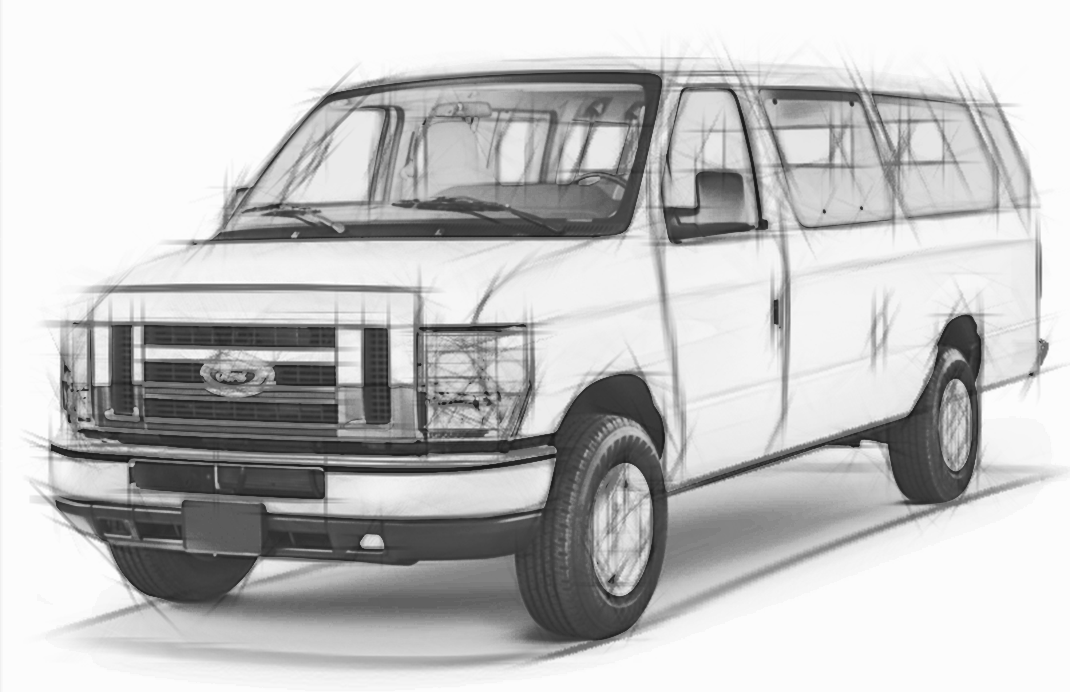 Ford-E-350-LED-bulbs-replacement-headlights-fog-signal-brake-lights
