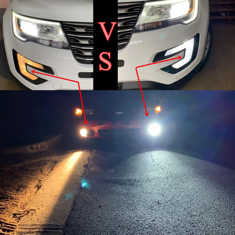 2504-PSX24W-LED-Fog-Light-Bulbs-6500k-White-vs-halogen-Lamps-12276
