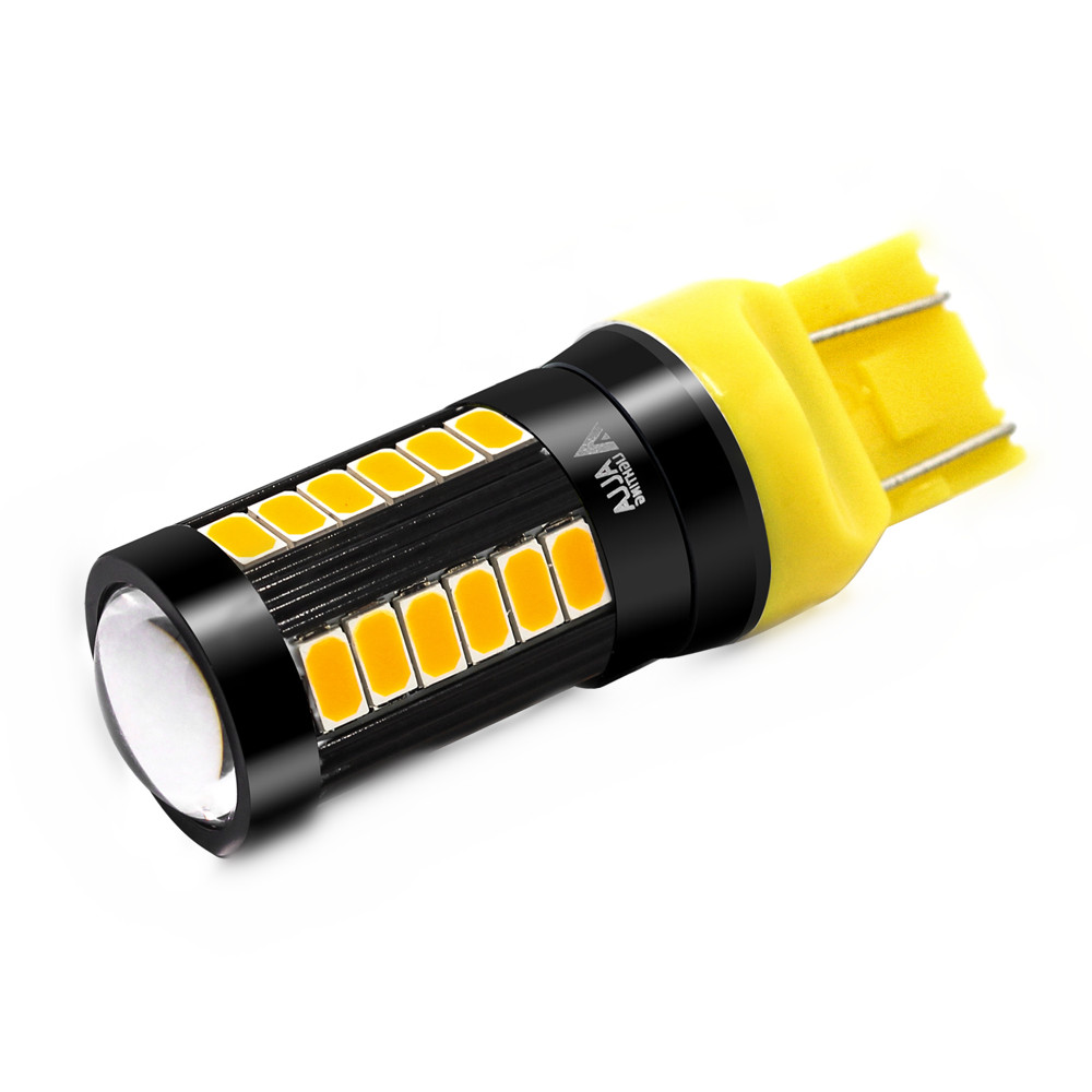 Best Honda CR-V LED Rear Turn Signal Light Bulb White/Yellow WY21W