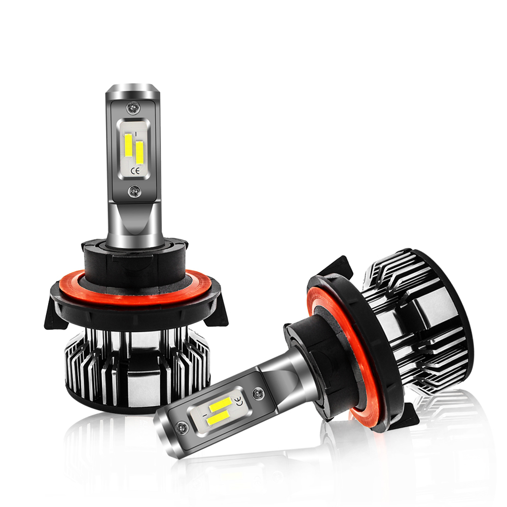 Jeep Wrangler Headlights Bulbs 9008 LED Conversion Kits Replacement