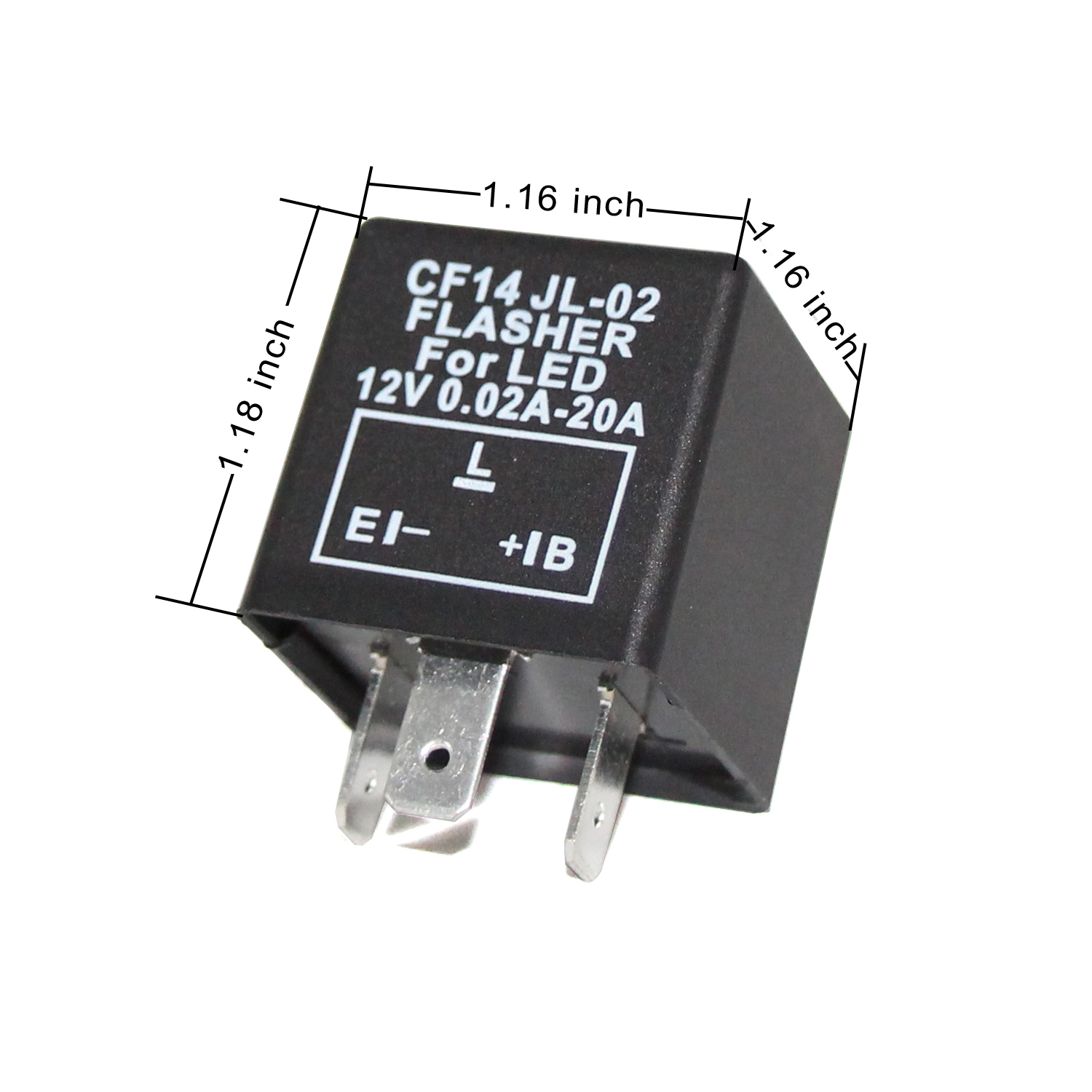 Automotive CF14 LED Flasher Relay Replacement for Cars, SUVs