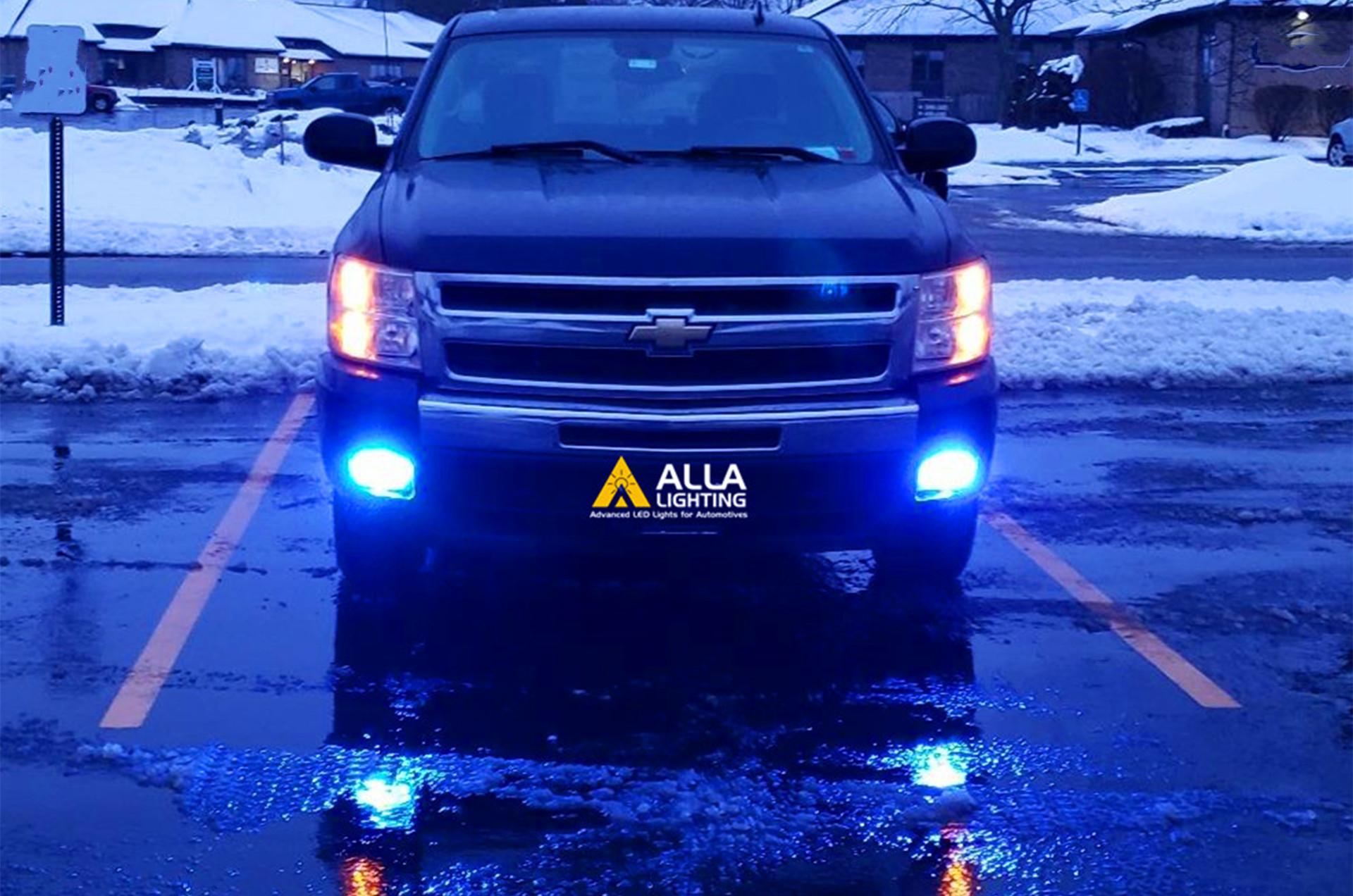 Chevy Silverado headlights led conversion kits bulbs fog lights 1500
