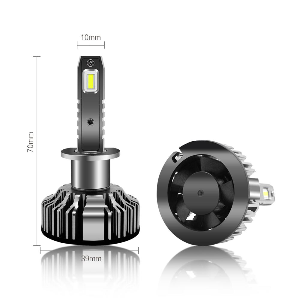 Dimension H1 LED Headlights Kits Bulbs Fog Lights for Cars Trucks
