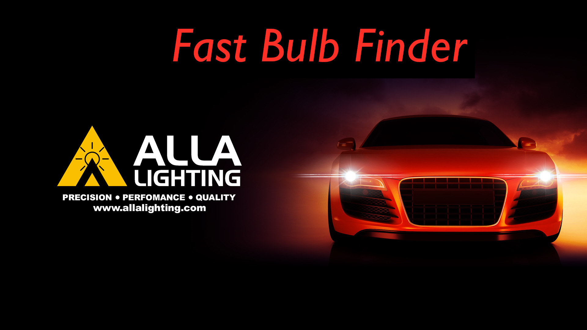 Alla Lighting LED Light Bulbs Category Headlight Fog Brake Stop Signal