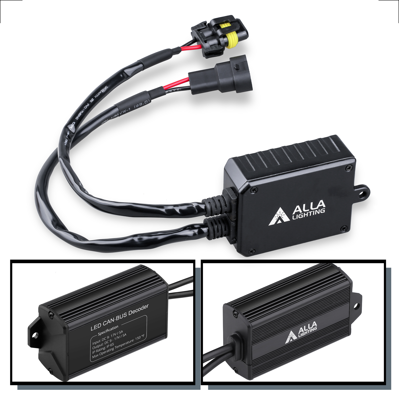 H13-H11-9007-LED-Headlights-Decoders-Anti-Flicker-Kits-Dodge-Truck