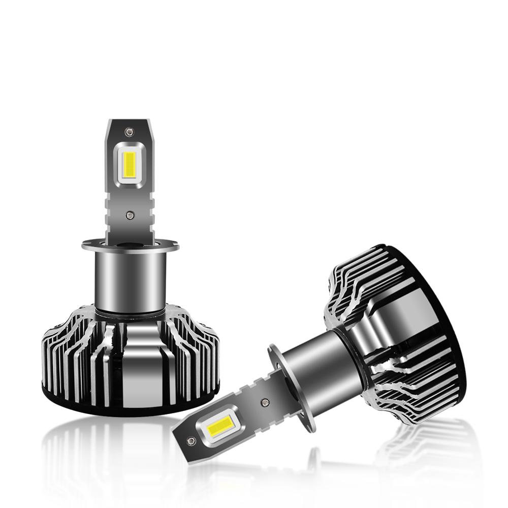 Super Bright H3 LED Front Fog Light Bulb for Jeep Wrangler