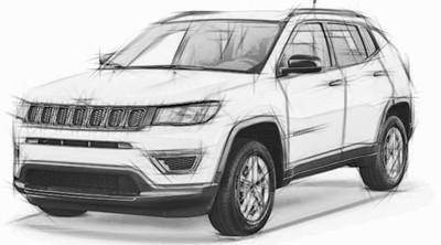 2018 Jeep Compass Headlights/Fog/Turn/Tail/Interior Light Bulb
