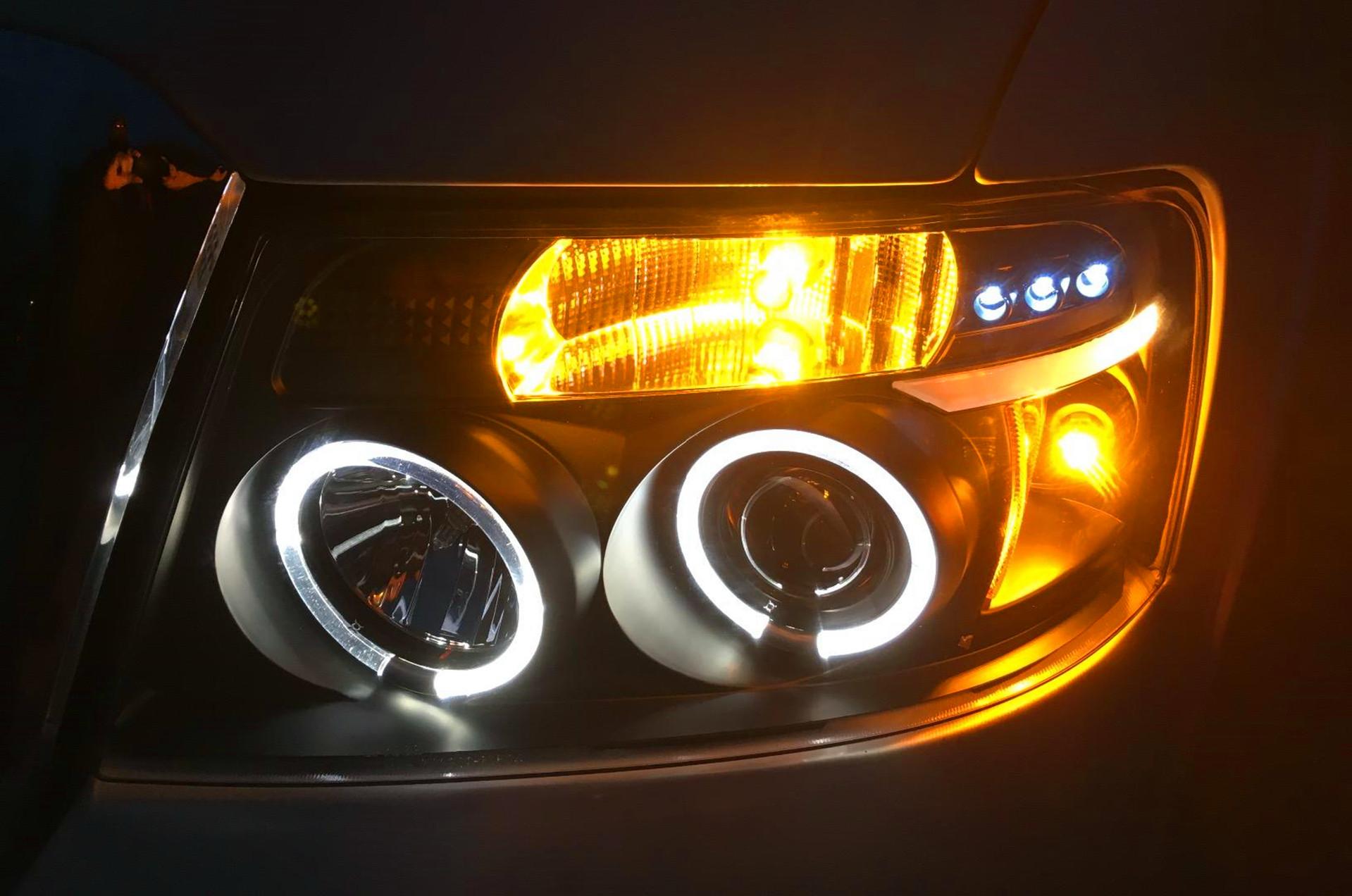 LED-Turn-Signal-Lights-Blinker-Marker-Lamps-Amber-Yellow-Car-Truck