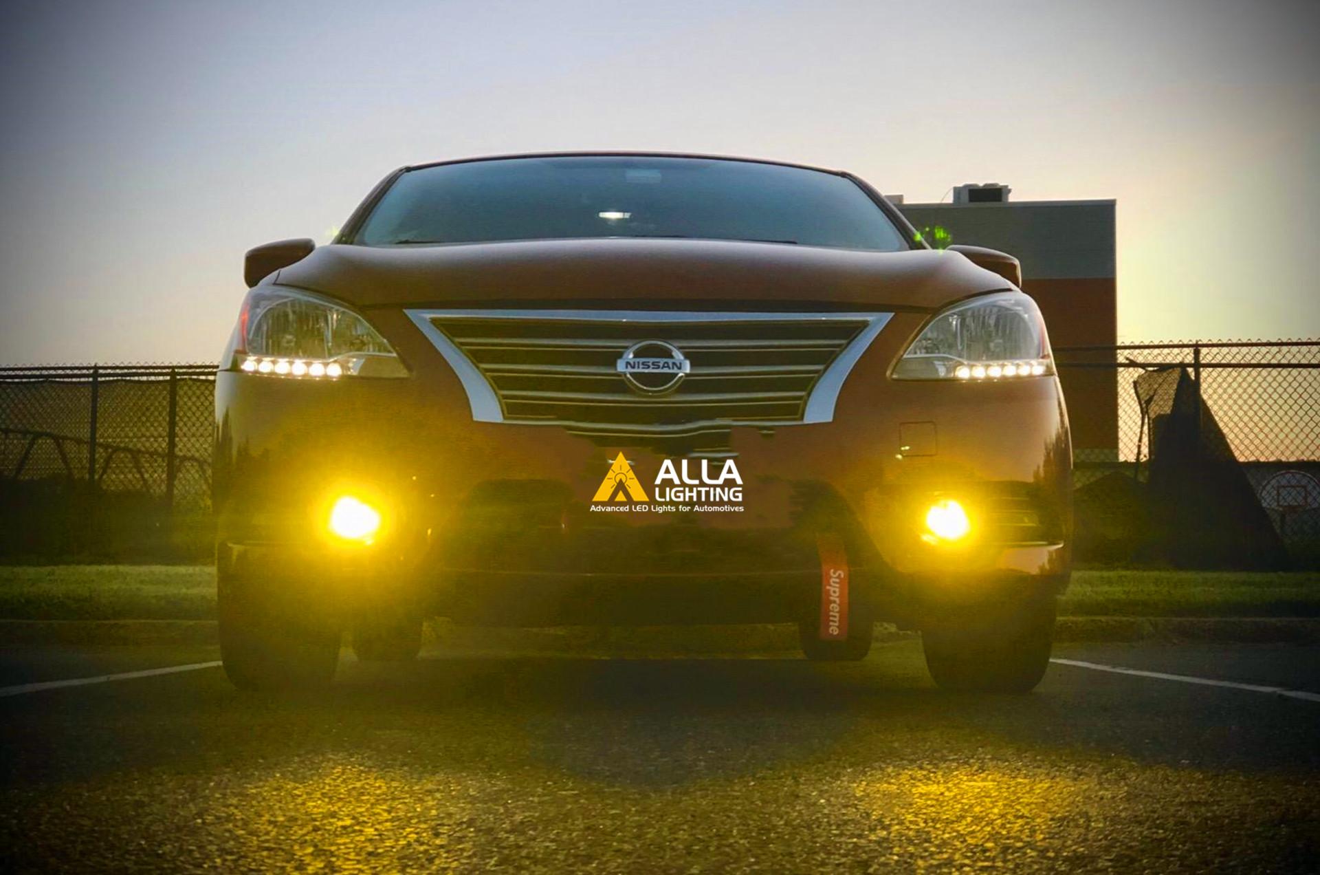 Nissan-Pathfinder-fog-lights-Bulbs-jdm-3000K-Yellow-H11-Replacement
