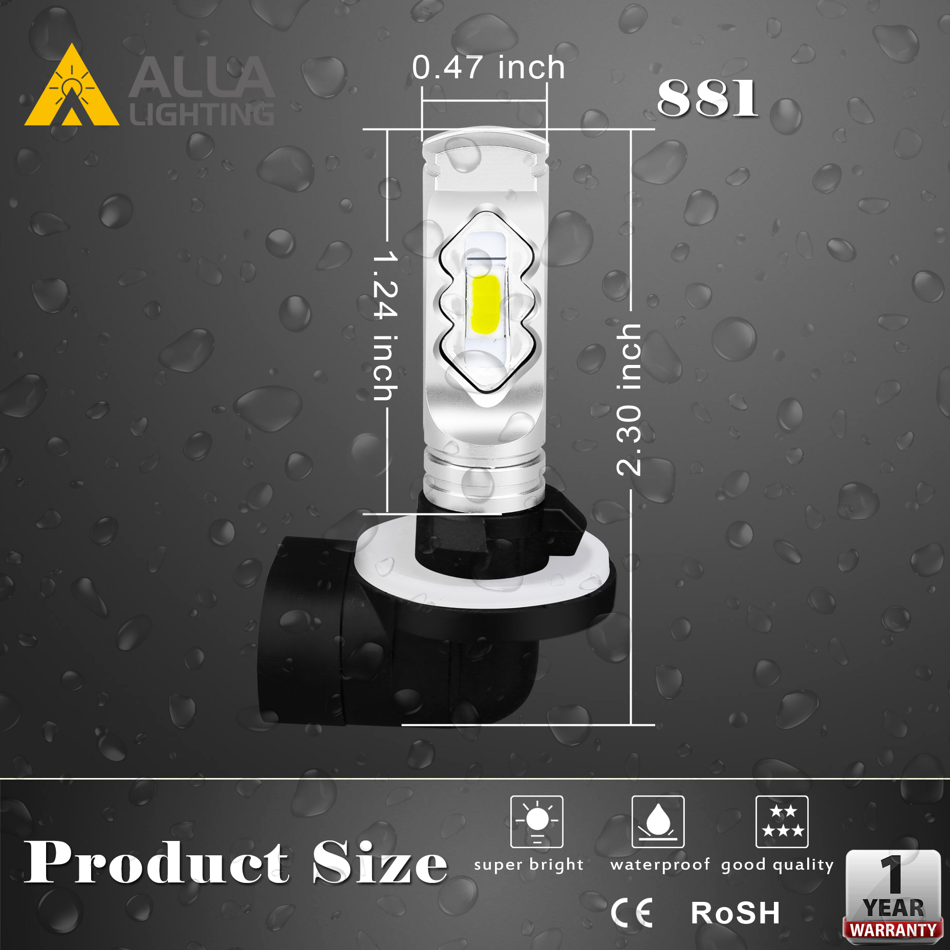 PGJ13-898-881-led-bulb-fog-lights-889-Dimension-car-truck-drl