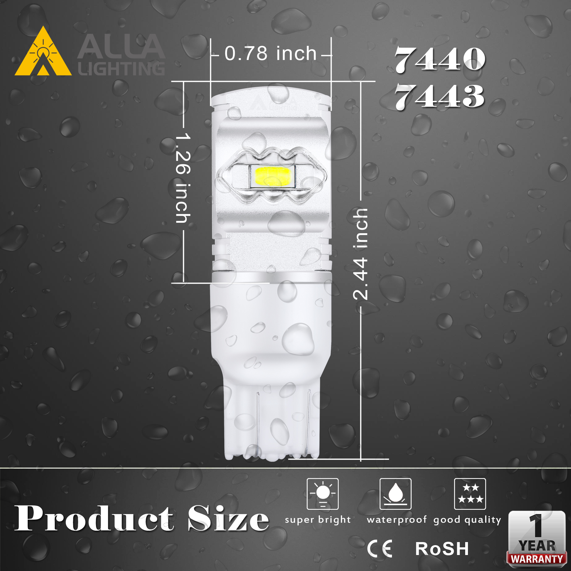 T20-7440-7443-LED-Lights-Bulbs-Signal-Brake-Reverse-Tail-Dimension
