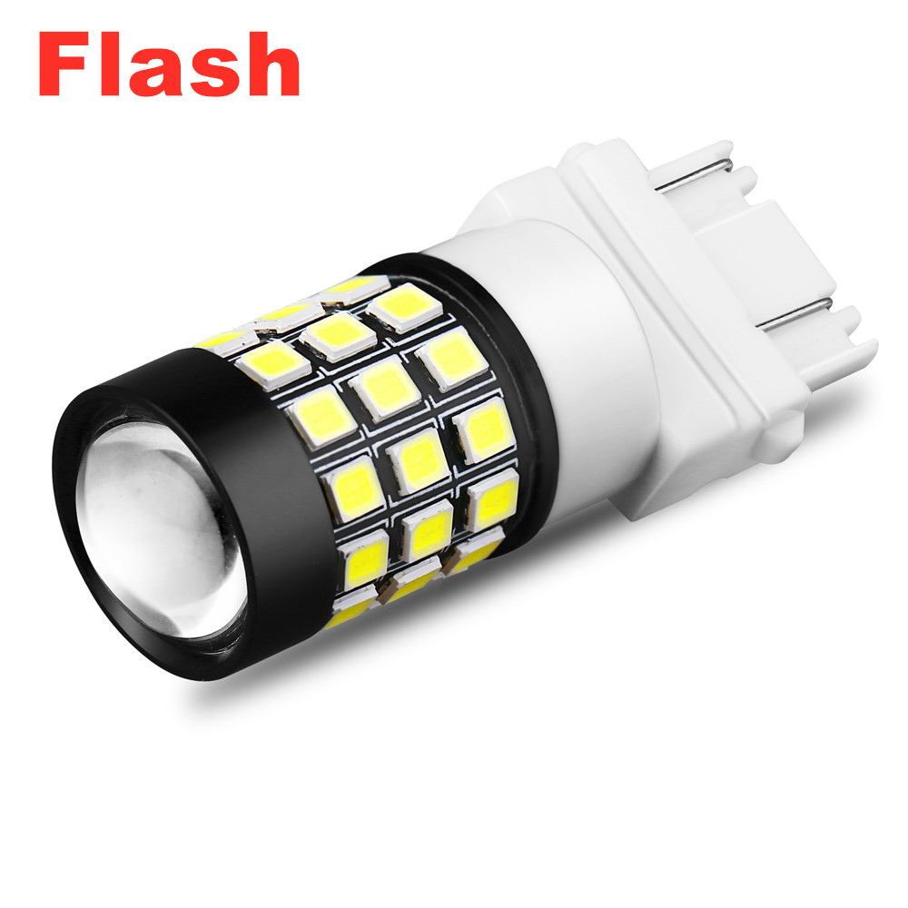 3156 LED Lights Bulbs Replacement 6K White Incandescent Reverse Lamp